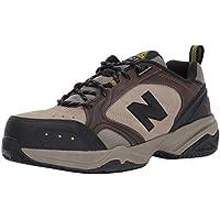 New Balance Men's MID627 Steel-Toe Work Shoe,Brown,10 2E US