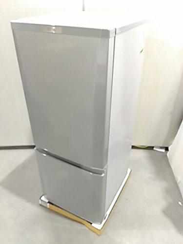 三菱 146L 2ドア冷蔵庫(ピュアシルバー)【右開き】MITSUBISHI MR-P15A-S