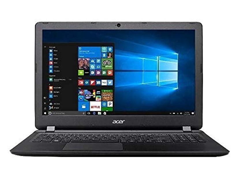 治世トランク妊娠したAcer Aspire ES1-533-C1D8 15.6インチノートPCのWindows 10 500GB HDD 4GB RAMブラック(リニューアル)