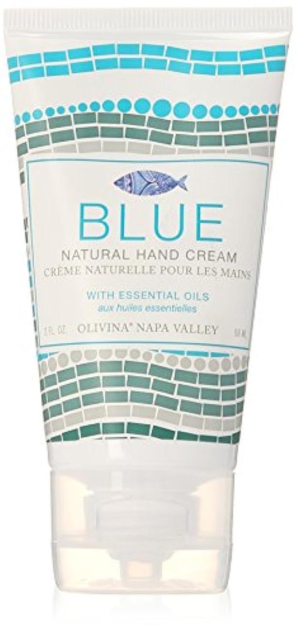カテナハリケーン中間Napa Valley Apothecary blue ブルー ハンドクリーム ブルー hand creme Blue ナパバレーアポセカリー Olivina オリビーナ