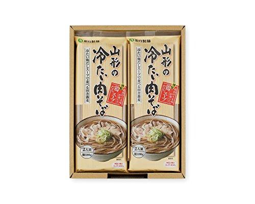 卯月製麺 山形の冷たい肉そば (8入)