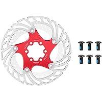 160ミリメートルフローティングディスクブレーキローターマウンテンバイクステンレススチールローター6ボルトのサイクリングアクセサリー、腐食防止と非変形