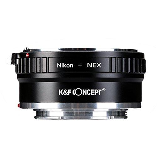 K&F Concept レンズマウントアダプター KF-NFE2 (ニコンFマウントレンズ → ソニーEマウント変換)