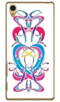 SECOND SKIN ivy 「Woman」 (クリア) / for Xperia Z5 SO-01H/docomo  DSO01H-PCCL-288-K020