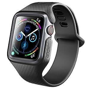 Clayco Apple Watch バンド 44mm 2018 スリム ストラップ apple watch series 4 対応 交換用 ベルト
