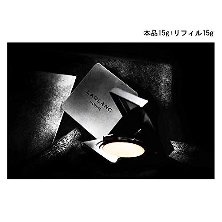 流産特徴リーチ(Laqlanc)大人気 10秒完成 ナチュラル 肌色アップ 紫外線遮断 ホワイトニング 男性 エアクッション 15g +リフィル 15g [海外配送品] [並行輸入品]