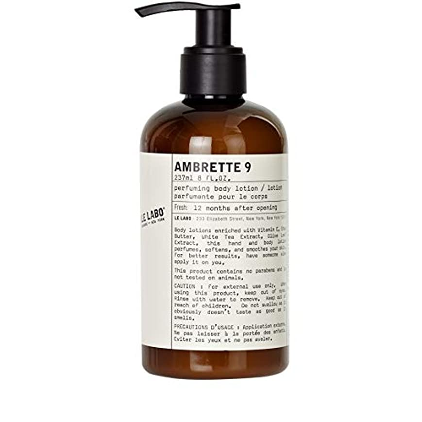 [Le Labo ] ルラボアンブレット9手とボディローション237ミリリットル - Le Labo Ambrette 9 Hand and Body Lotion 237ml [並行輸入品]