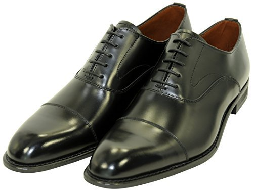 KB48AJ ブラック メンズ ビジネスシューズ ストレートチップ 紳士靴 ケンフォード