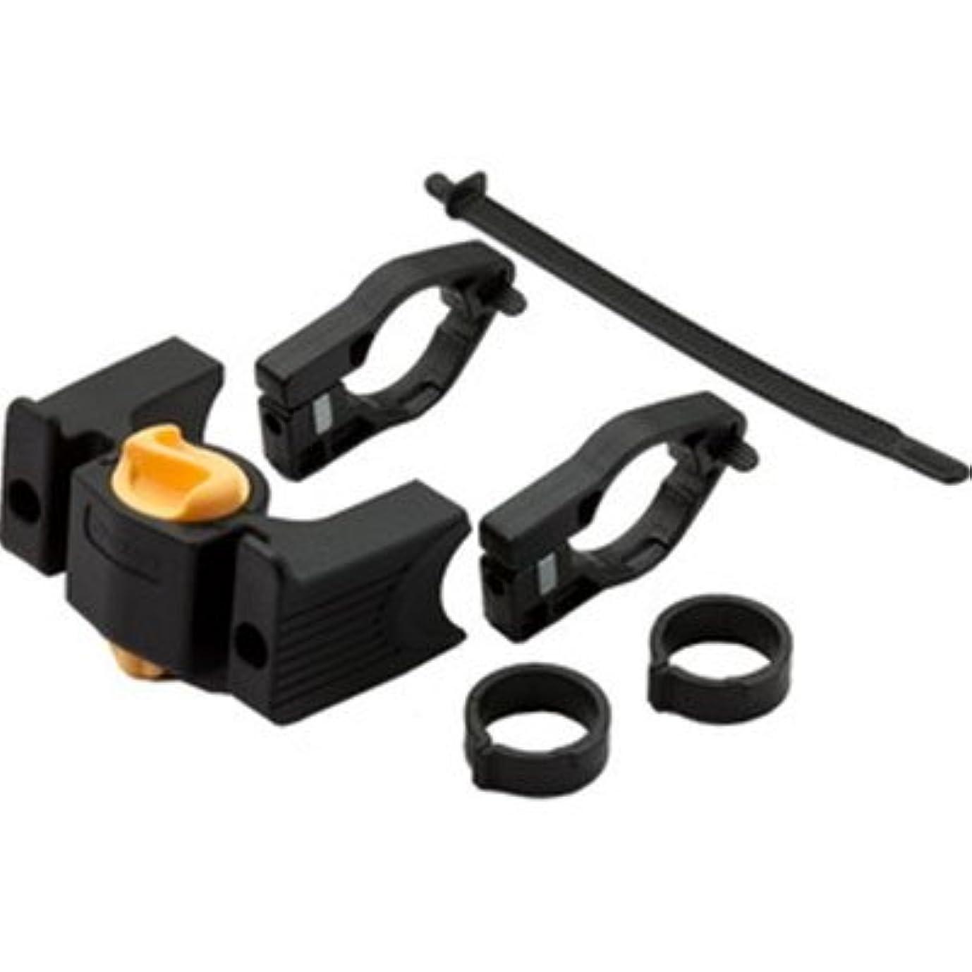 雑種タイヤ化粧OSTRICH(オーストリッチ) フロントバッグ用 [KDS] ワンタッチ着脱機構 ハンドル側