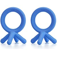 Comotomo Silicone Teether Bundle, - Blue by Comotomo