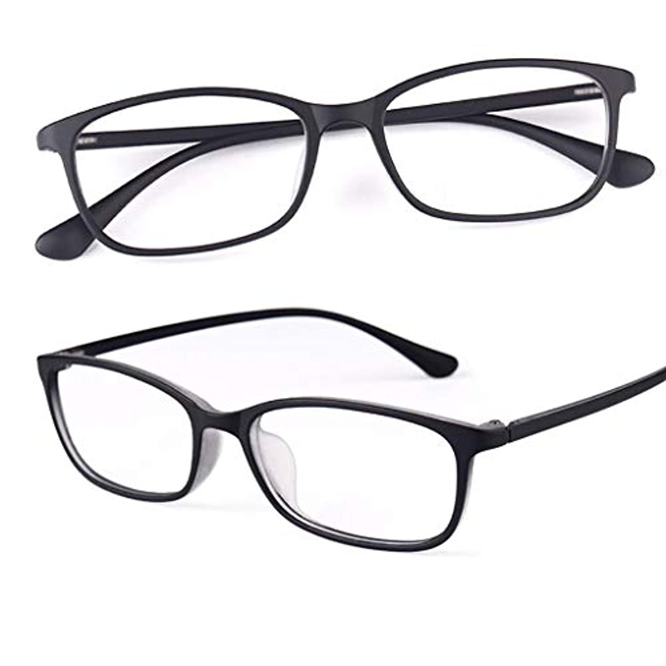 老眼鏡、遠近両用の女性用老眼鏡Blu-ray耐性樹脂レンズ、老眼鏡、サングラス収納アクセサリー-紫と黒| + 1.0、+ 2.0、+ 3.0