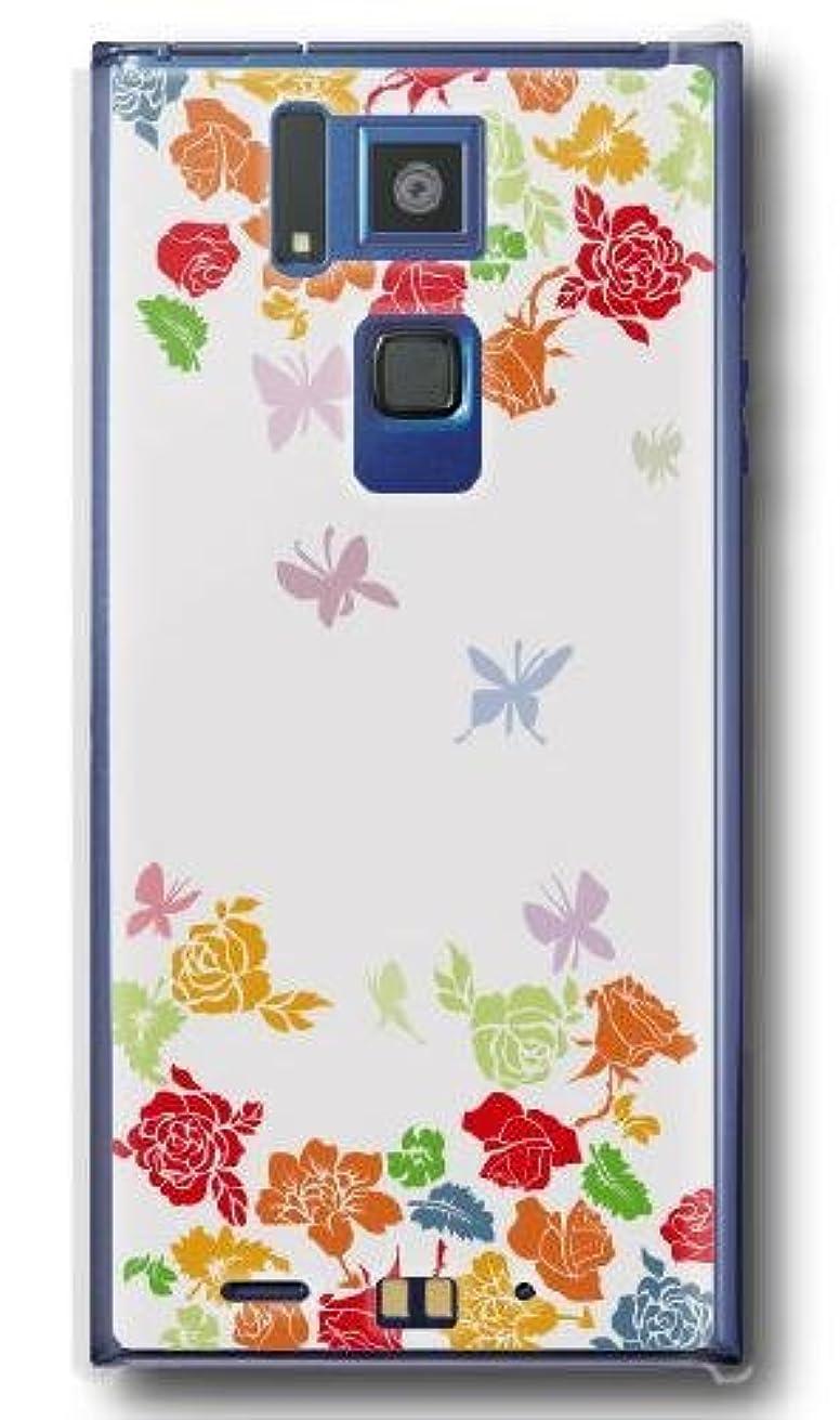 国旗アルカトラズ島アセ【Paiiige】 バタフレーバー (クリア)/ for REGZA Phone T-02D/Docomo専用ケース DCT02D-101-A039