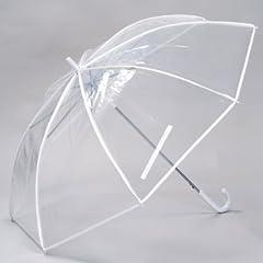 特大 透明ビニール傘 70cm グラスファイバー骨 【LIEBEN-0637】