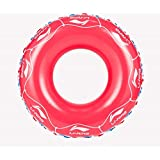 クラシック 男女兼用 浮き輪 レディース夏浮輪 水インフレータブル脇の下フローティング行夏ポータブルプールビーチフローティングプール装飾大人子供カップルパープル/ブルー/レッド メガ割引 ( Color : Red )
