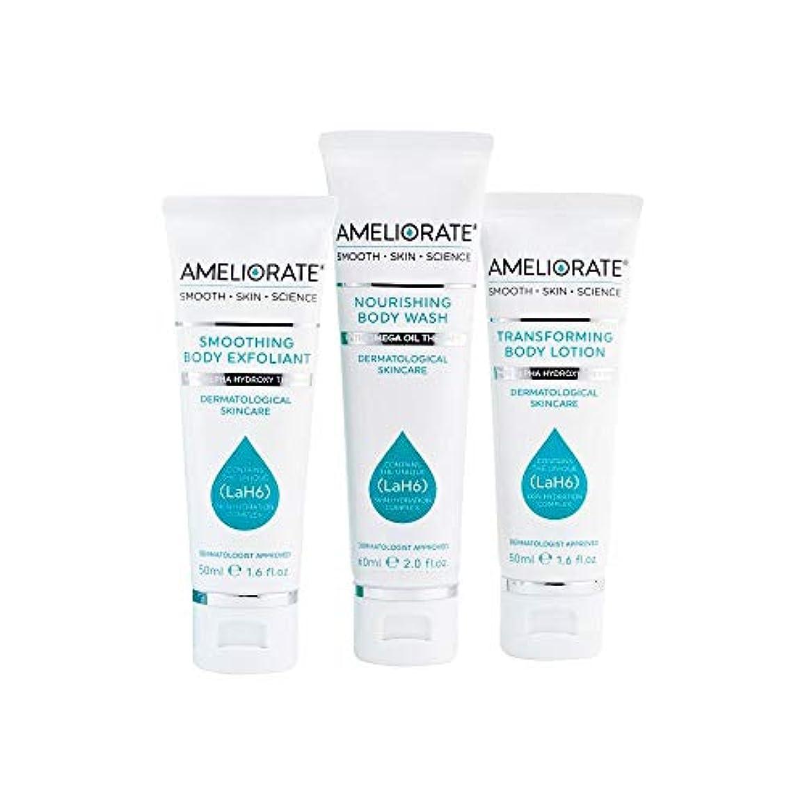 学ぶ触手しかし[Ameliorate] 皮膚キットを滑らかにする3つのステップを改善 - Ameliorate 3 Steps to Smooth Skin Kit [並行輸入品]