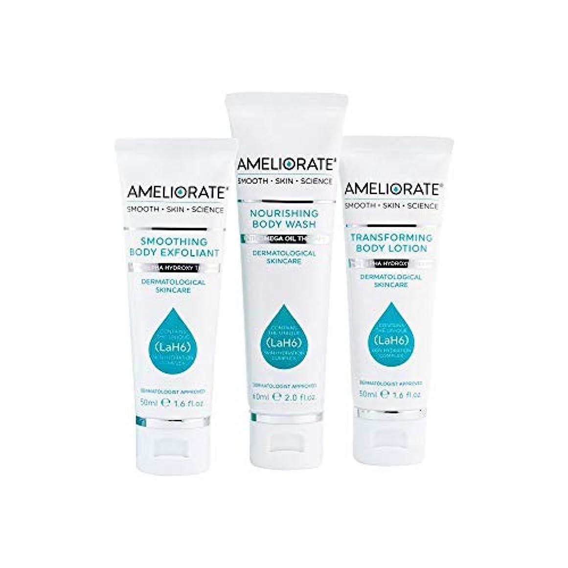 航空機ビーズ爆風[Ameliorate] 皮膚キットを滑らかにする3つのステップを改善 - Ameliorate 3 Steps to Smooth Skin Kit [並行輸入品]