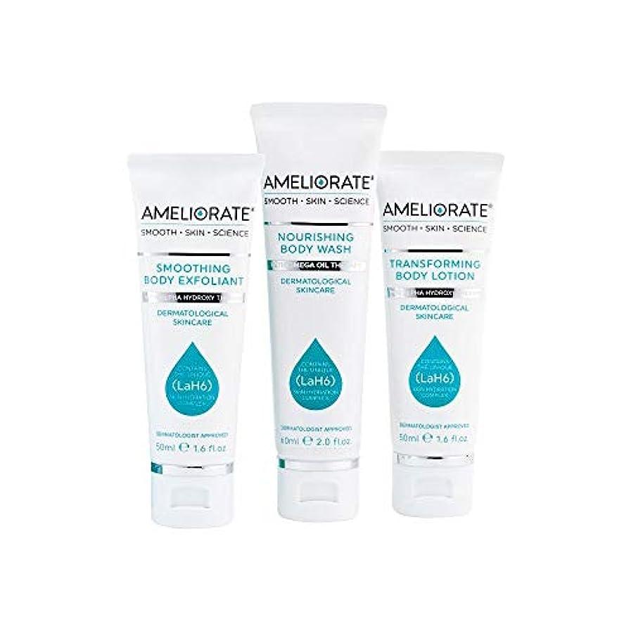 上に築きます形成贈り物[Ameliorate] 皮膚キットを滑らかにする3つのステップを改善 - Ameliorate 3 Steps to Smooth Skin Kit [並行輸入品]