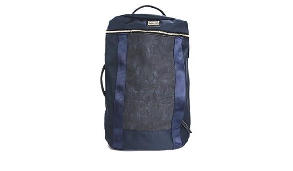 96e3581e512a Amazon.co.jp: 【Various style】メンズリュックサック 大容量バックパック 二重構造 背面ファスナー付 ナイロン  JP002-NVY: シューズ&バッグ