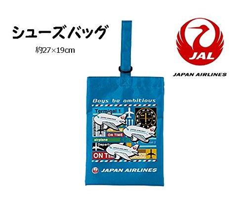 【JAL】 シューズバッグ こども用 エアライングッズ 03...