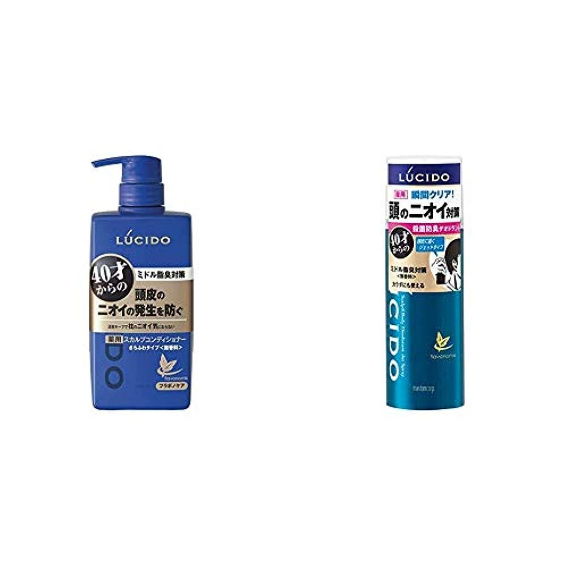 お母さんバイパスベアリングルシード 薬用ヘア&スカルプコンディショナー 450g(医薬部外品) & ルシード(LUCIDO)薬用 頭皮とカラダのデオドラントジェットスプレー 130g(医薬部外品)