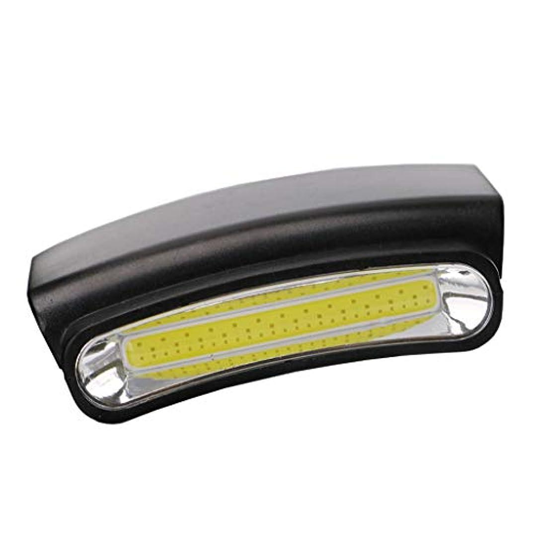 寛大さ気づくなる緑キャンピング釣りのポータブルCOB LEDヘッドランプミニ懐中電灯ヘッドライト