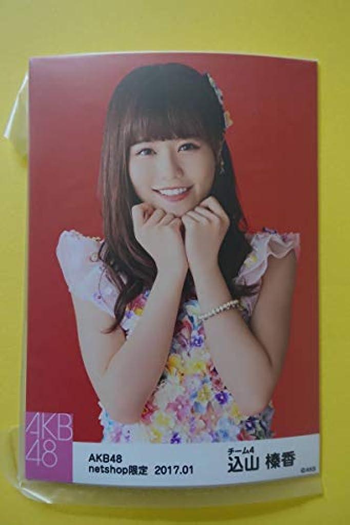 地雷原めまいが王女AKB48 個別生写真5枚セット 2017.01 込山榛香 秋元康 偶像 アイドル akiba