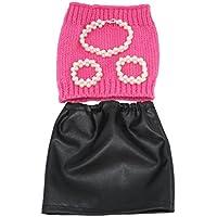SONONIA セット ストラップレス チューブトップ PUドレス スカート ジュエリー 18インチアメリカガールドール用 ドレスアップ