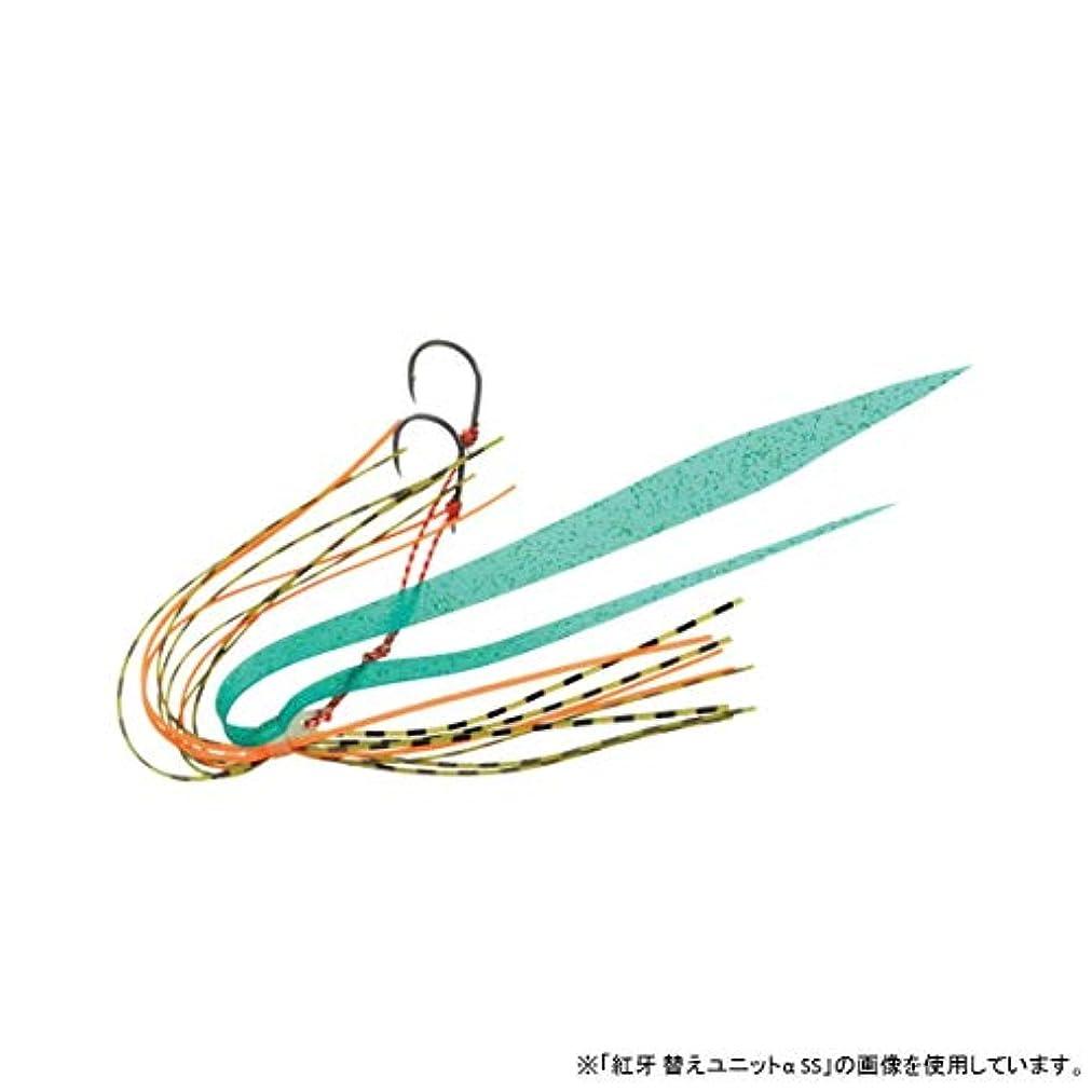 ロール二層静めるダイワ(Daiwa) タイラバ ラトル 紅牙 ラトルマジックユニットα SS オレンジエメラルドR