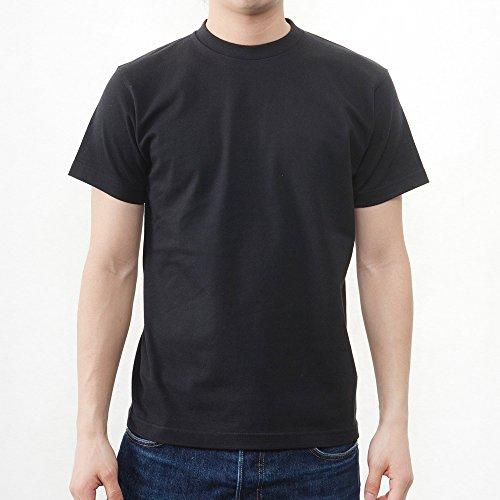 ティーシャツドットエスティー Tシャツ 半袖 無地 ビッグサイズ 6.2oz メンズ スーパーブラック 7XL