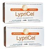 【二個セット】液状サプリメント ビタミンC1000mg 30包 Lypricel, Liposomal Vitamin C, 30 Packets リプライセル海外直送品