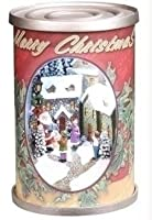 12.7cm Retro Santa Claus Antique Christmas Can Decoration