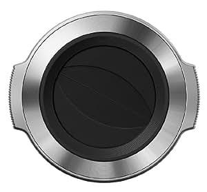 OLYMPUS M.ZUIKO DIGITAL ED 14-42mm F3.5-5.6 EZ用 自動開閉式レンズキャップ シルバー LC-37C SLV