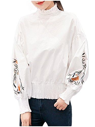 [ライオンガーデン] LG04 WH XL おおきい サイズ 長そで 長袖 夏 サマー なつ 秋 オータム あき 大きい おおきな ゆったり 女の子 女性 女 レディース 小柄 大柄 3xl かっこいい ストレート スリム ワンピ