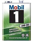 Mobil エンジンオイル モービル1 0W-30 SN/GF5 4L [HTRC3]
