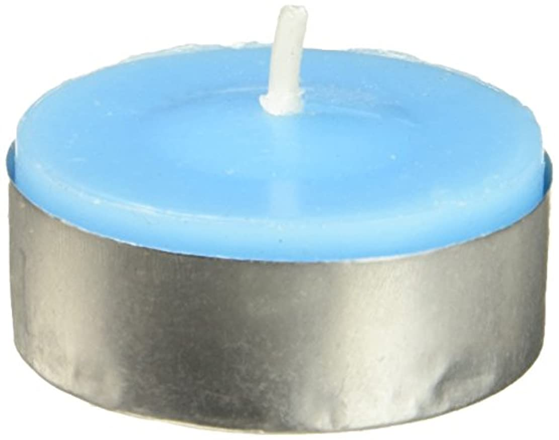 ポーズ一次原稿Zest Candle CTC-003 Turquoise Citronella Tealight Candles -100pcs-Box