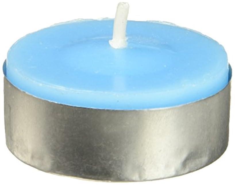 肺相対サイズ一Zest Candle CTC-003 Turquoise Citronella Tealight Candles -100pcs-Box