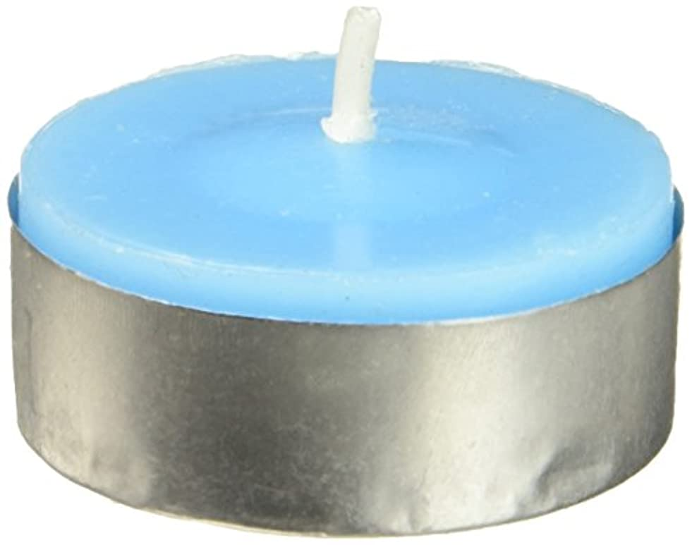 批判的に役に立たない食用Zest Candle CTC-003 Turquoise Citronella Tealight Candles -100pcs-Box