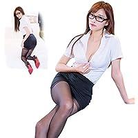 Mfex 秘書 コスプレ セクシー 女教師 大人用コスチューム フリーサイズ ストッキングと眼鏡が付き