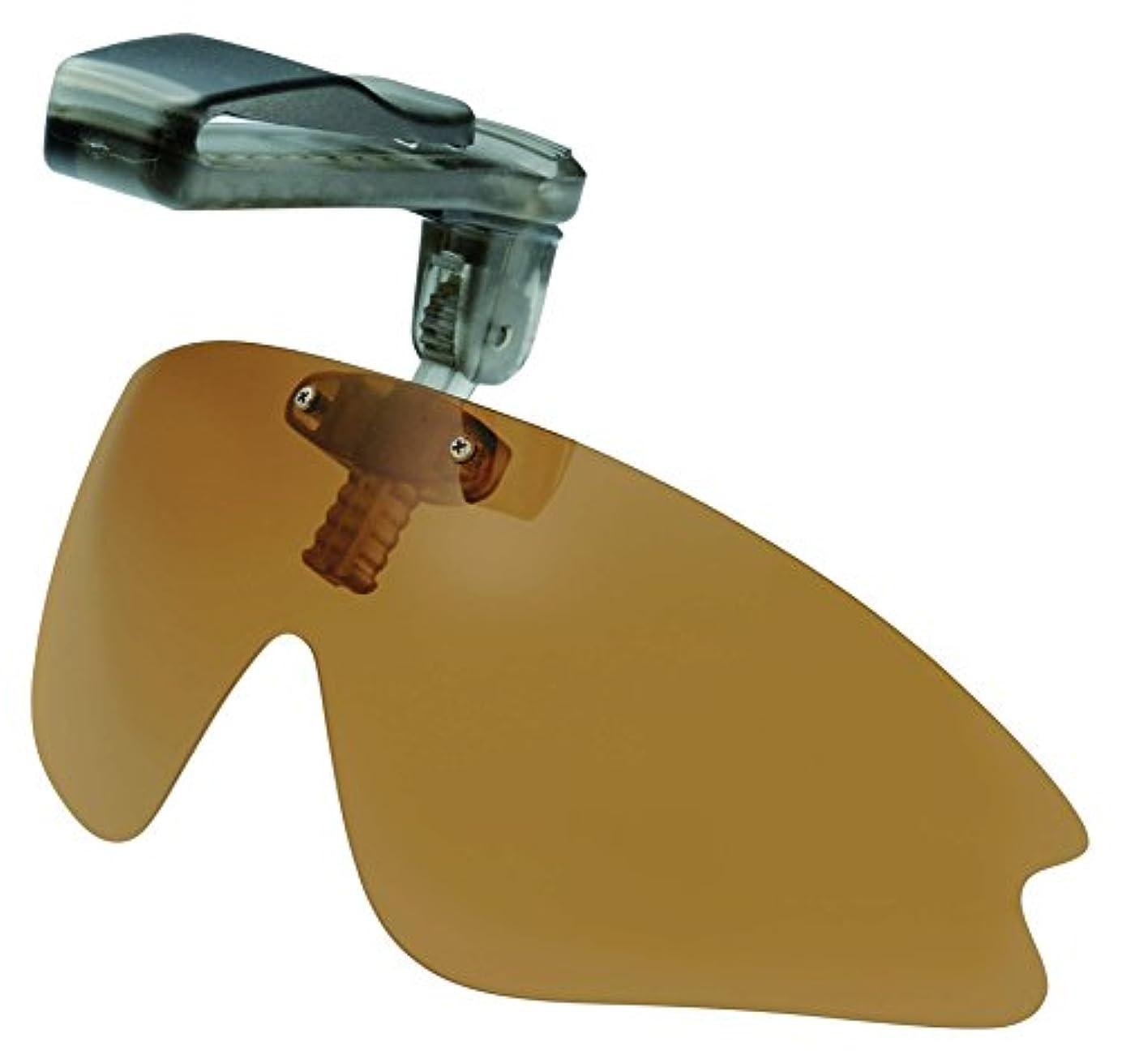 謙虚なモーター先冒険王(Boken-Oh) サングラス 帽子用 キャップシェーダー PBC-05B