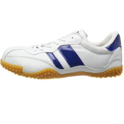 【安全靴】 【防災】 サンダンス 軽量スニーカー VP-2000 (28.0cm, ホワイト&ネイビー)