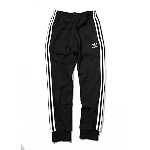 SPINNS adidas(アディダス)タックパンツ BLACK L