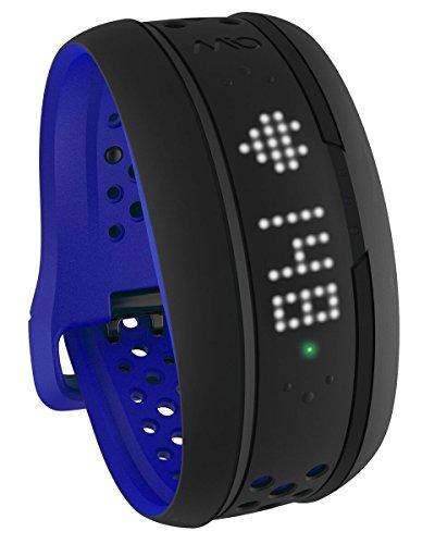 【日本国内正規販売品・保証付】MIO FUSE ミオ フューズ コバルトブルー (Lサイズ) 継続的心拍測定ライフトラッキングデバイス Bluetooth SMART/Bluetooth 4.0 ANT+対応