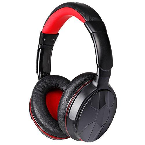 Mixcder Bluetooth ヘッドホン ワイヤレス モニターヘッドホン 高音質 ノイズキャンセルヘッドフォン ワイヤレスヘッドホン マイク付き 有線可能 ブラック HD501