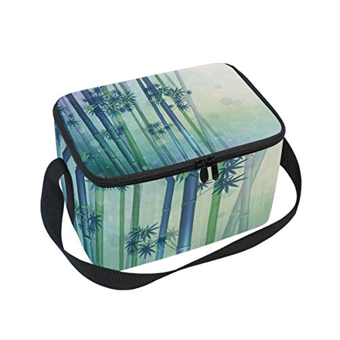 そこから精巧な医薬クーラーバッグ 弁当袋 竹 緑 保温保冷 折りたたみ可 軽量 6L Tskyoo