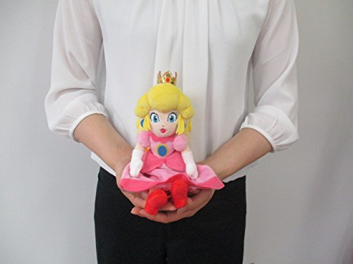 三英貿易 スーパーマリオ ALL STAR COLLECTION ぬいぐるみ AC05 ピーチ S おもちゃ