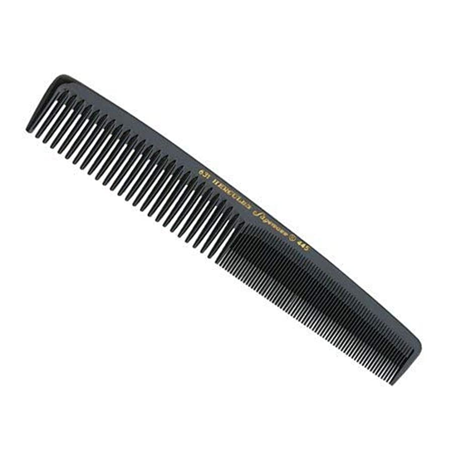 喉頭手錠排泄物Hercules Sagemann Medium Waver Ladies Hair Comb, Length-17.8 cm [並行輸入品]