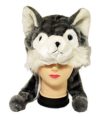 amaletPlay 着ぐるみ帽子 動物シリーズ オオカミ...