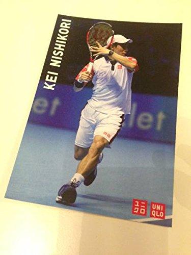 ユニクロ 錦織圭 ポストカード テニス 2014 ATP ファイナル 白