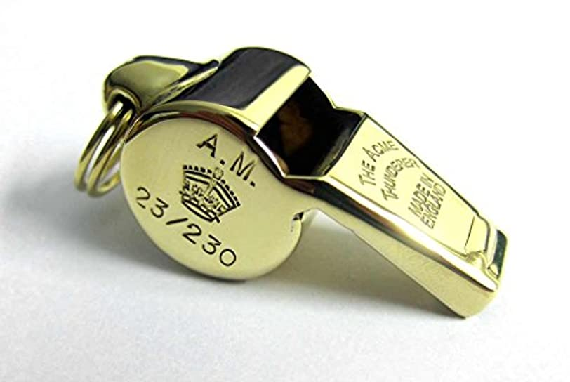 編集者今後出席するWW2 Acme ホイッスル エアー?ミニストリー 23/230 RAF USAAF 救急救助 緊急 ディッチングサンダー第二次世界大戦真鍮
