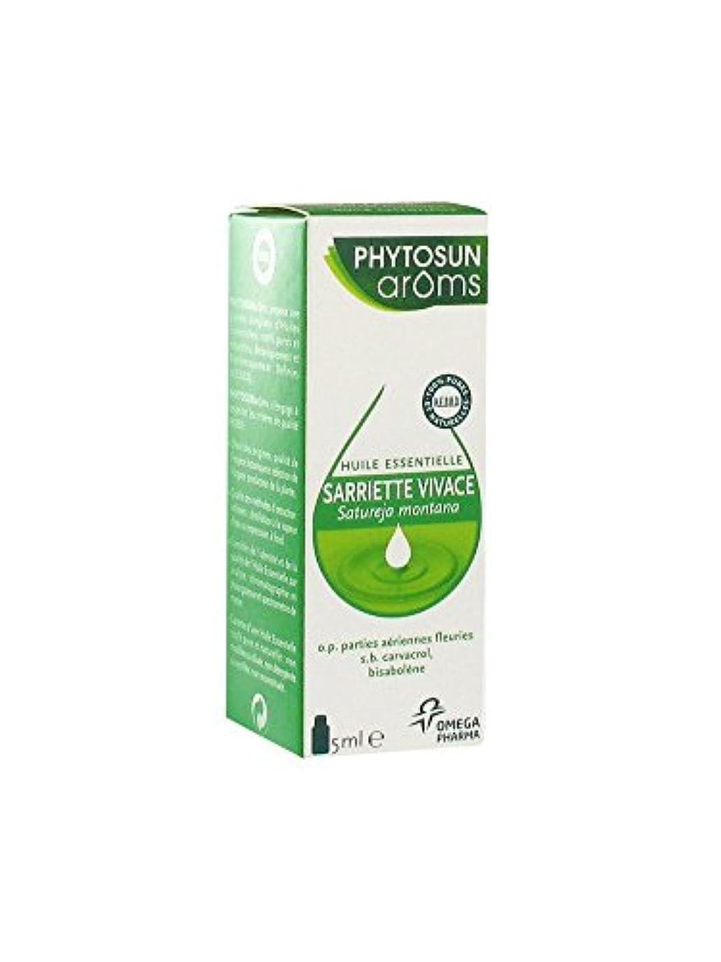 速い大通り気体のPHYTOSUN AROMS HUILES ESSENTIELLES NATURELLES Sarriette Vivace (5 ml)
